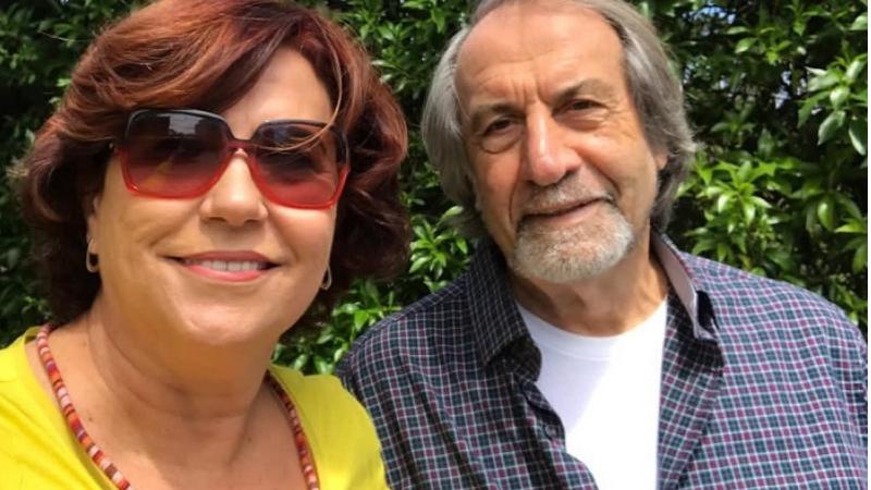 Berenice de Andrade Lima, esposa de Cadoca, diz que a situação é delicada mas acredita na recuperação dele