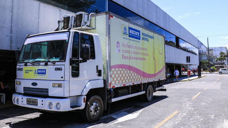 Ações têm início nesta terça-feira (1º) e o caminhão percorrerá 20 pontos da capital