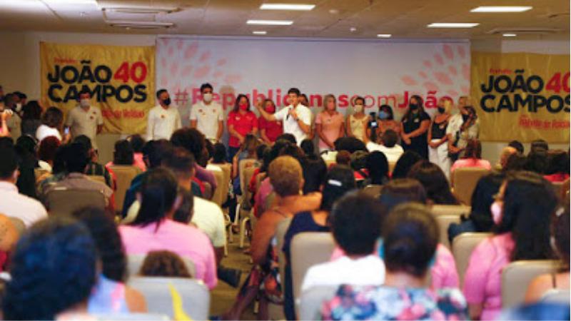 O presidente do Partido, Silvio Costa Filho, João Campos tem todas as condições de ser um grande prefeito