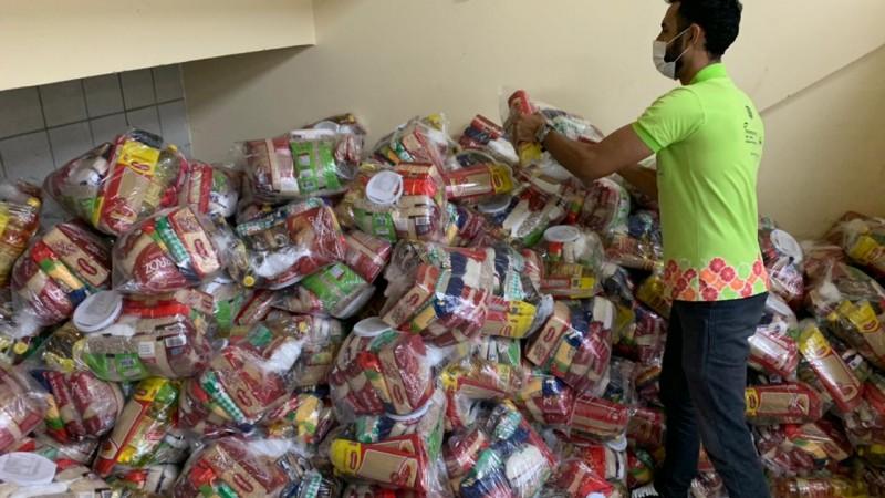 Alimentos serão levados para instituições que atendem pessoas em situação de vulnerabilidade atendidas pelo Banco de Alimentos