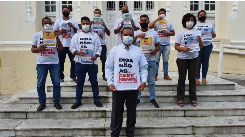 O parlamentar é autor da lei que institui no Recife a Semana Municipal de Conscientização e Combate à Disseminação de Notícias Falsas