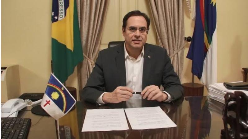Governador Paulo Câmara anunciou, em pronunciamento, que após quatro meses a ocupação de leitos de UTI ficou em 87%