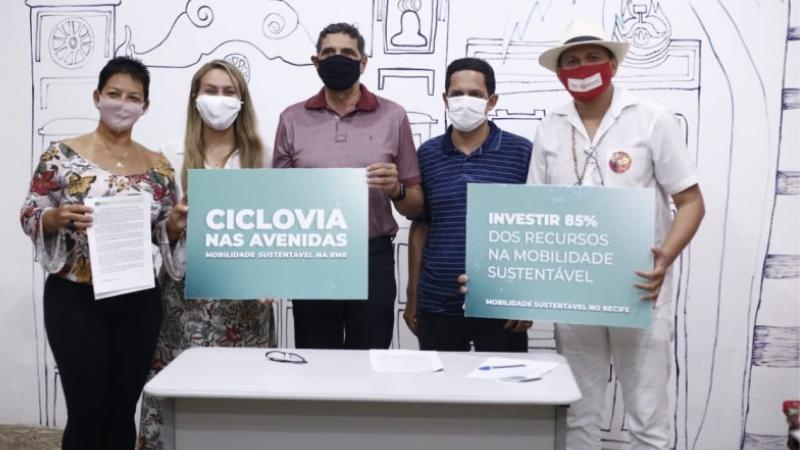 A carta propõe uma melhor qualidade de vida, com mais saúde e por cidades com mobilidades sustentáveis