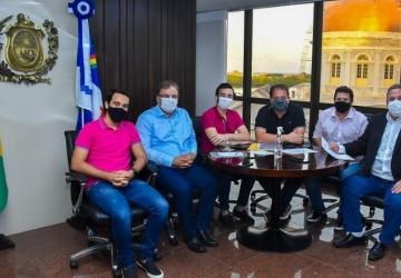 Lula da Fonte acompanha reunião do prefeito de Palmares com Eriberto Medeiros na Alepe