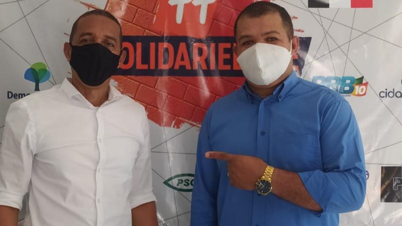 Presidente estadual do Partido, Tinho do Povo disse que a legenda está de portas abertas para receber o prefeito reeleito de Olinda