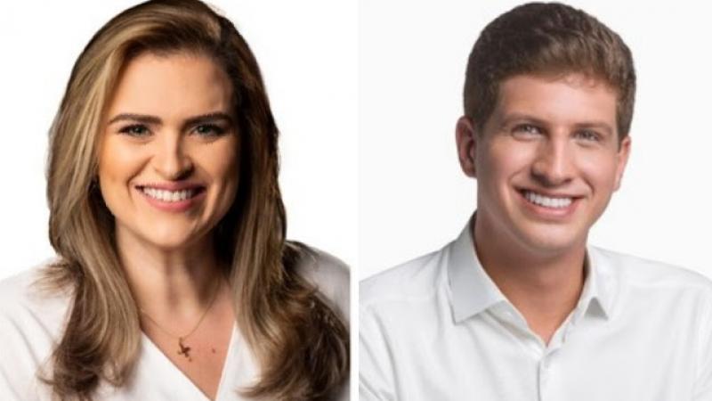 A segunda rodada da pesquisa mostra que os dois candidatos oscilaram positivamente