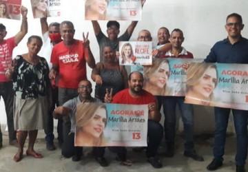 Maricleiton Vieira reúne PT do Cabo em apoio à campanha de Marília no Recife
