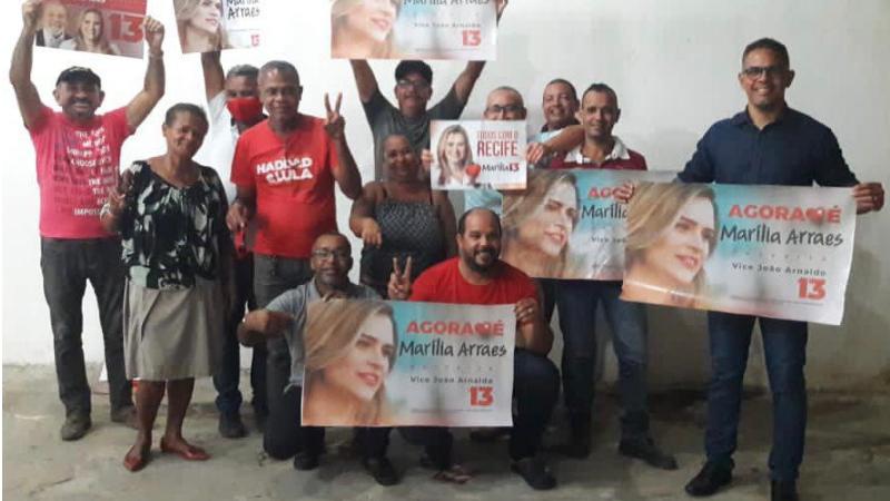 Candidatos e candidatas a vereador pelo partido, se reuniram para sistematizar ações na reta final de campanha