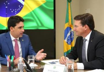 Silvio Costa Filho discute ações para PE com ministro João Roma