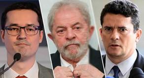 Ex-presidente Lula propõe à TV Globo um debate entre ele, Moro e Dallagnol