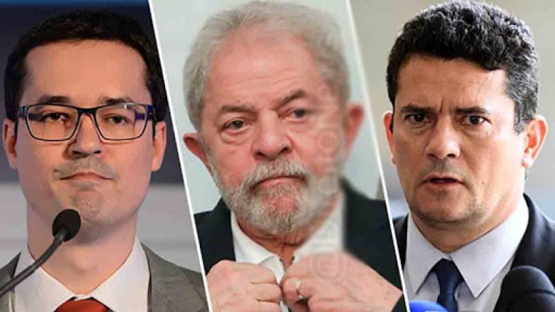 Lula se mostrou indignado com as revelações do conluio entre Moro e Dallagnol, trazidas ao conhecimento público pelo site The Intercept Brasil no último domingo, 9