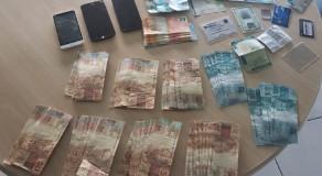 Três são detidos com notas falsas em Carnaubeira da Penha