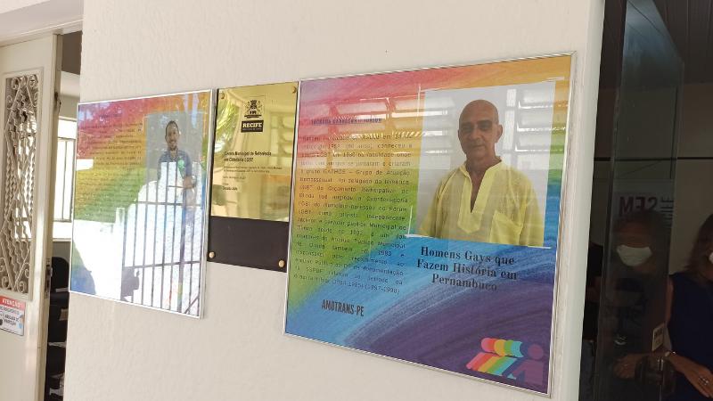 Perfis estão expostos no Centro de Referência em Cidadania LGBT do Recife, que funciona de segunda à sexta-feira, das 9h às 15h