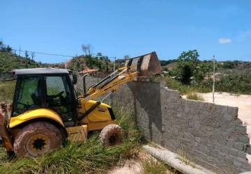 Prefeitura do Cabo, CPRH e Cipoma realizam autuação em construções irregulares nas áreas de preservação