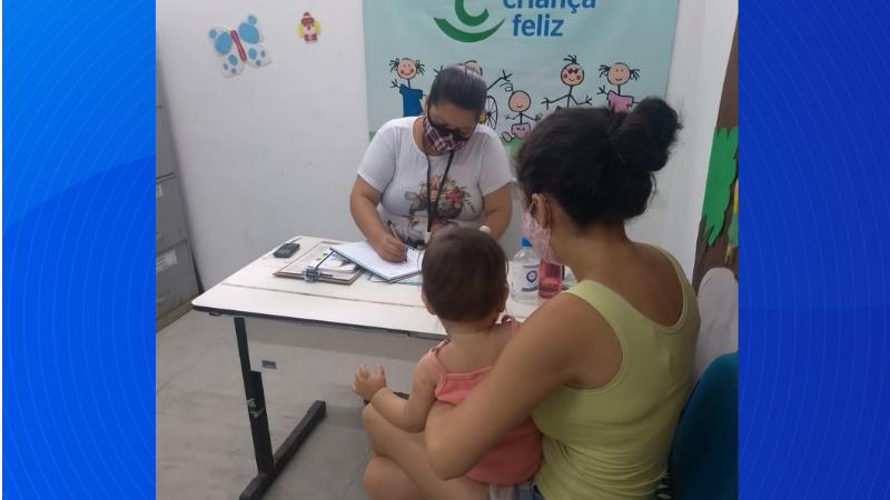 oordenada pela Secretaria de Políticas Sociais e Direitos Humanos do município, a iniciativa tem a meta de atender mil pessoas, entre gestantes e crianças de 0 a 6 anos