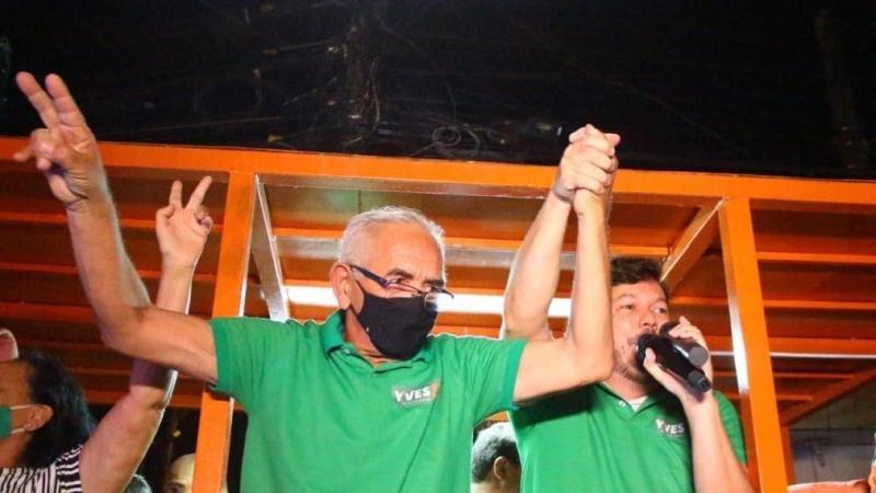 O candidato do MDB venceu a eleição com 57,52% dos votos válidos