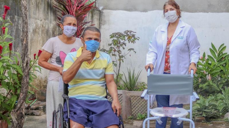 Serão atendidos os pacientes que já estavam inscritos no Programa Humaniza SUS com indicação para uso de um dos dispositivos a serem entregues.