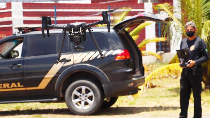 Mais de 100 drones serão usados para sobrevoar principais zonas eleitorais