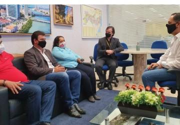 Gildo Dias tem reuniões na Capital em busca de melhorias para Sairé