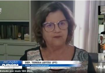 Teresa Leitão pede solução para a cadeia produtiva do Carnaval