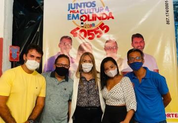 Em ato com Vivian Farias, Juntos Pela Cultura em Olinda lança proposta