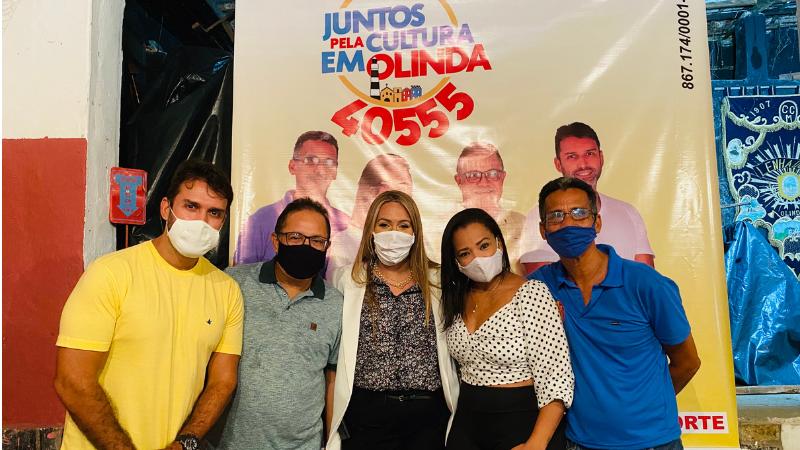 O evento aconteceu na sede do Clube Lenhadores de Olinda e foi prestigiado por representantes de diversos segmentos culturais de Olinda