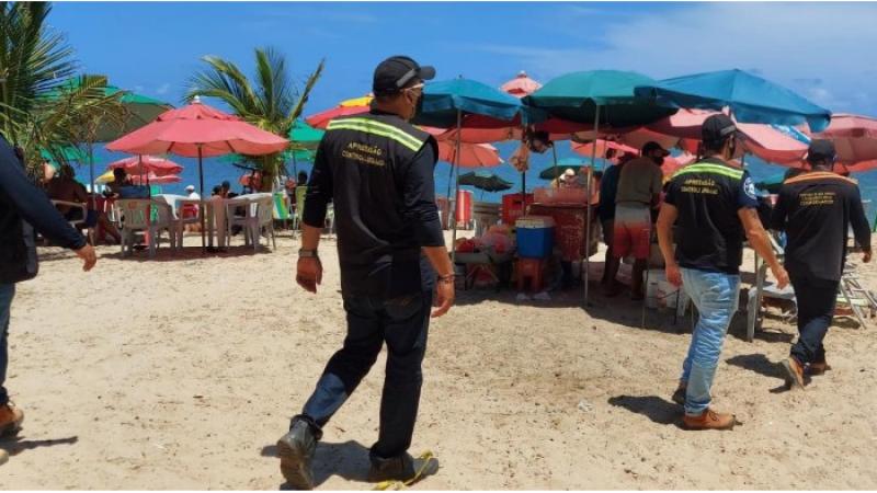 A equipe atuou nos bairros de Rio Doce, Peixinhos e Caixa D'Água