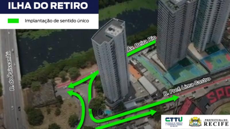 Equipamento tem 4,5 km e possibilita a intermodalidade de transportes. Para viabilizar a mudança, um binário foi implantado em frente à sede do Sport Club do Recife