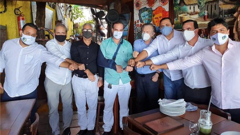 O reforço à candidatura de Jorge Federal (PSL) a prefeito em Olinda, é uma das repercussões da decisão do partido no Recife