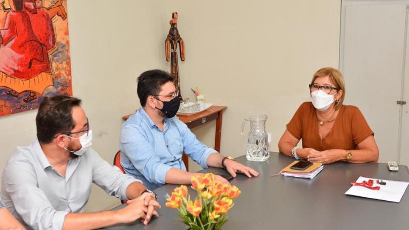 Em visita à prefeita Ana Célia (PSB) o secretário  Alberes Lopes anunciou que o equipamento, que movimentará a economia e dará apoio e qualificação à população., chegará em breve à cidade