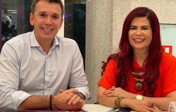 Gleide Ângelo leva projetos de enfrentamento à violência contra mulher ao Congresso Nacional, com o apoio de Felipe Carreras