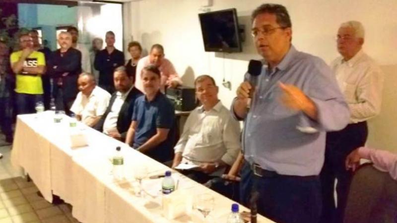 O empresário terá o apoio do PTB e a escolha do nome para vice-prefeito ainda não foi divulgado