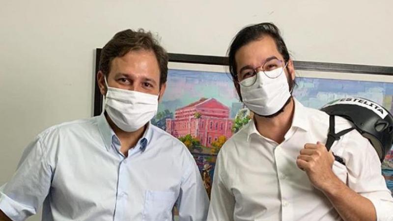 Túlio Gadelha e Guto Santa Cruz apostam que a presença do presidente nacional PDT irá confirmar suas candidaturas a prefeito do Recife e de Olinda.