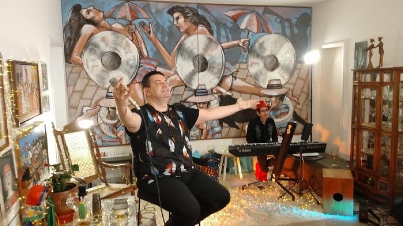 O artista apresenta a tour Viva Pernambuco, que integrou a programação do Festival de Coburg, na Alemanha
