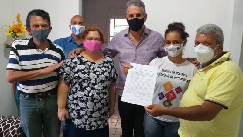 Nos próximos dias, o Instituto de Inclusão e Cidadania de Pernambuco entregará o documento para o candidato Jorge Federal, do PSL.