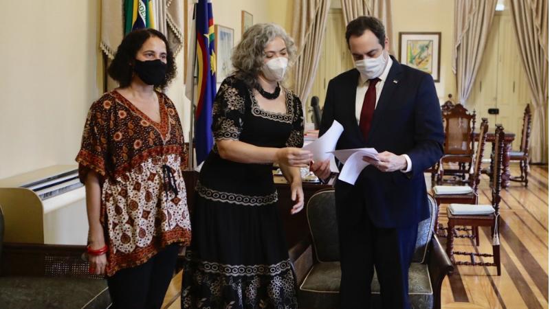 Paulo Câmara se solidarizou com Liana Cirne e ratificou a determinação de investigação rigorosa do caso