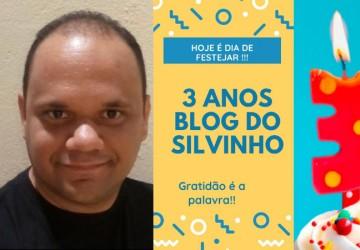 Blog do Silvinho completa 3 anos