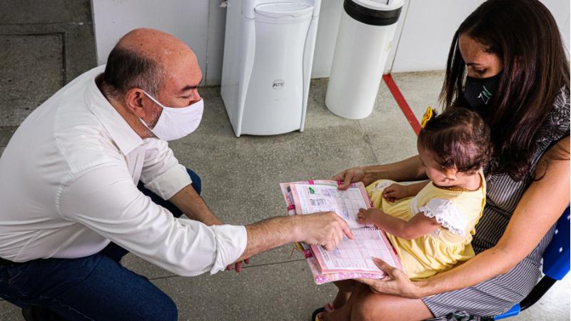 Serão aplicadas vacinas contra poliomielite e sarampo. Além disso, será possível atualizar a caderneta de vacinas de crianças e adolescentes menores de 15 anos