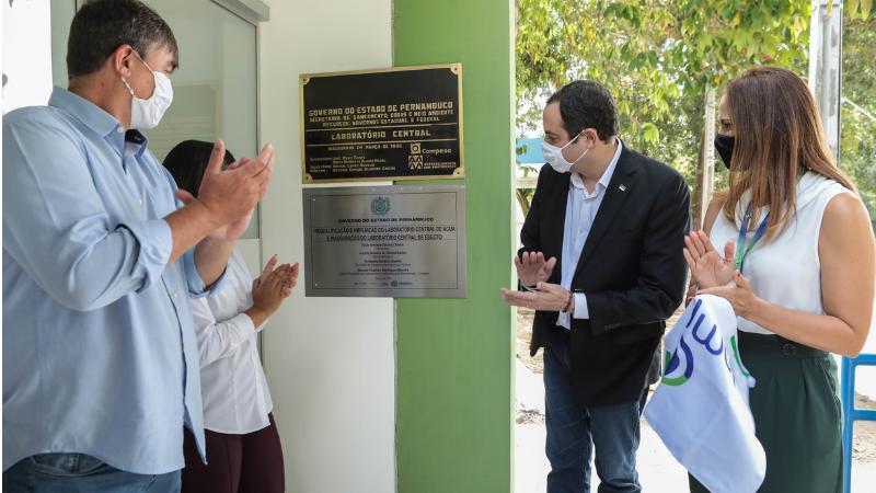 O espaço gerido pela Compesa, no bairro de Dois Irmãos, no Recife, passa a ser chamado de Laboratório Central de Análises de Água e Esgot