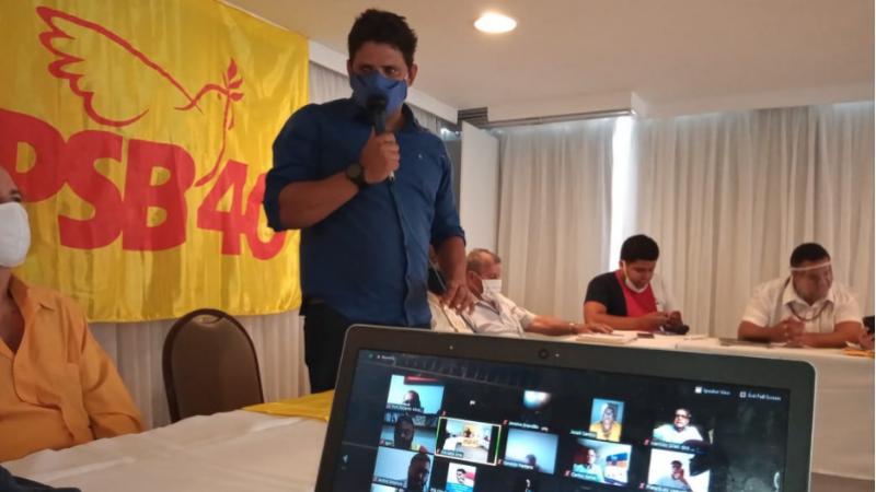 O encontro realizado de forma virtual homologou 26 candidatos à Câmara de Vereadores, além da adesão à coligação liderada pelo PCdoB para prefeito.