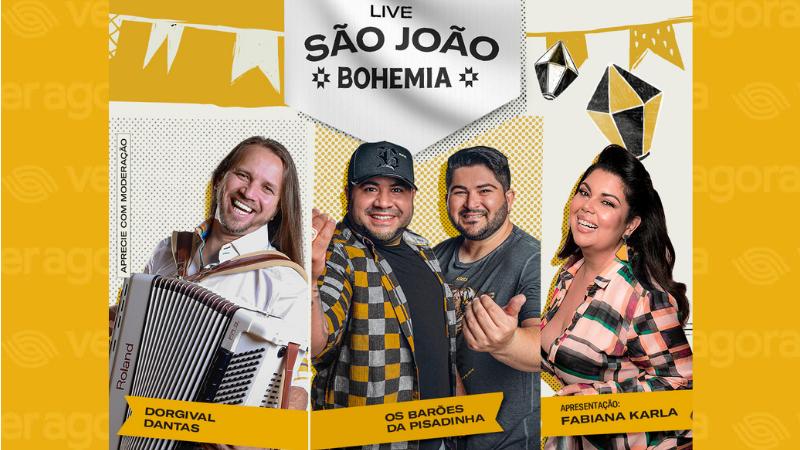 A atriz Fabiana Karla será a apresentadora dessa grande festa virtual