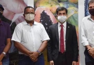 Claudiano Martins recebe Pel Lages na Secretaria de Desenvolvimento Agrário