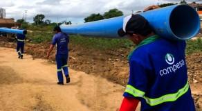 Compesa realiza obra para melhorar abastecimento da Vila Canaã