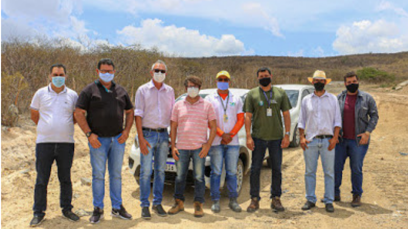 Equipe da Agência Estadual do Meio Ambiente (CPRH) realiza visita no local para identificar os problemas e necessidade de ampliação