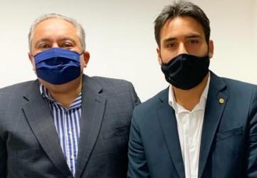 Deputado João Paulo Costa discute Plano de Vacinação de Pernambuco com secretário de Saúde