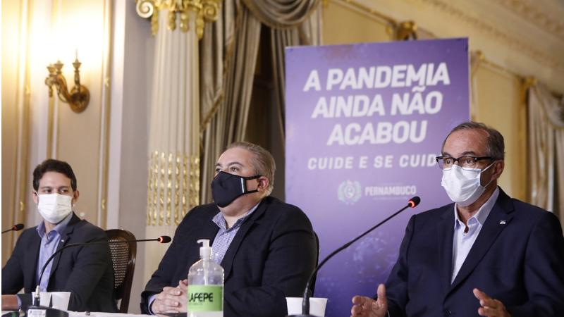 Bares, restaurantes e comércio ambulante estão proibidos no Sítio Histórico de Olinda e no Recife Antigo, a partir da sexta-feira (12)