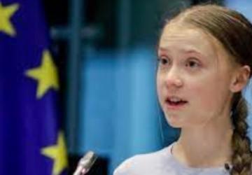 Greta Thunberg destaca os graves danos dos atuais sistemas de produção alimentar