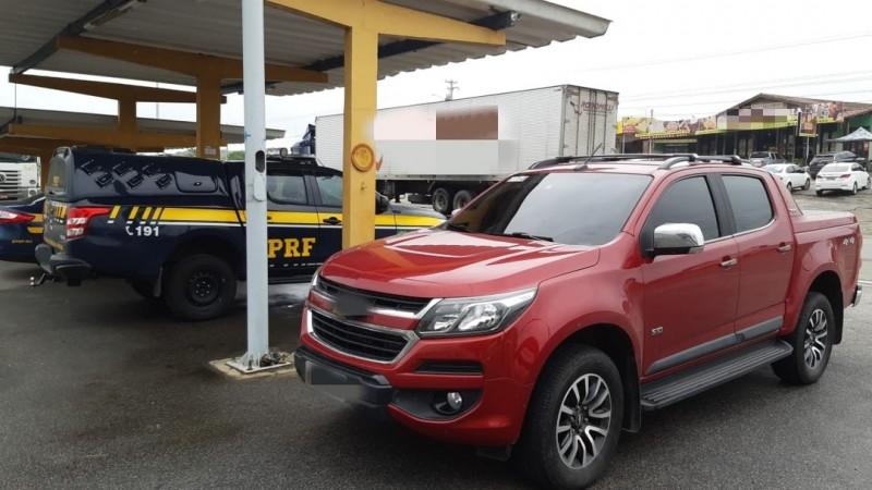 Ao verificar o Certificado de Registro de Licenciamento de Veículo (CRLV), foi constatado que o documento pertencia a um lote extraviado do Departamento Estadual de Trânsito de Pernambuco (Detran PE)