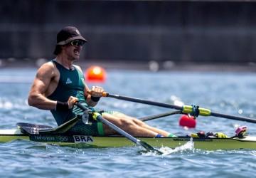 Lucas Verthein vai disputar a final B do remo nos Jogos Olímpicos