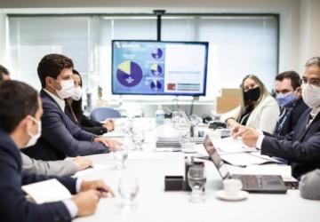 João Campos discute parcerias com a Caixa Econômica Federal